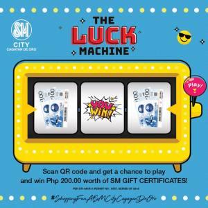 Luck Machine Gift Certificates