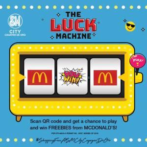 Luck Machine McDonalds