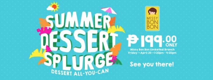 Missy Bon Bon summer dessert splurge detailed