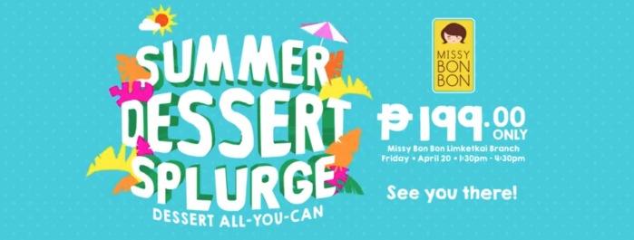 Missy Bon Bon summer dessert splurge detailed