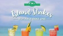 Seafood Island shakes buy 2 take 1 FI