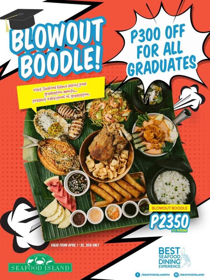 SeafoodI sland Blowout Boodle