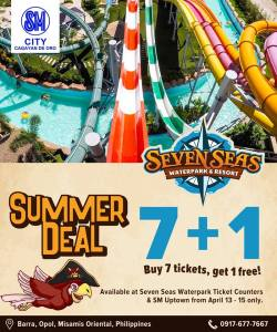 Seven Seas 7 plus 1 Promo SM 3 day Sale
