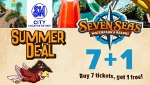 Seven Seas 7 plus 1 Summer Deal FI