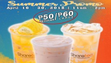 Sharetea Summer Promo FI