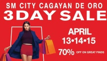 SM City 3 day sale FI3