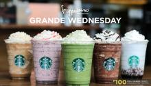 starbucks grande wednesdays