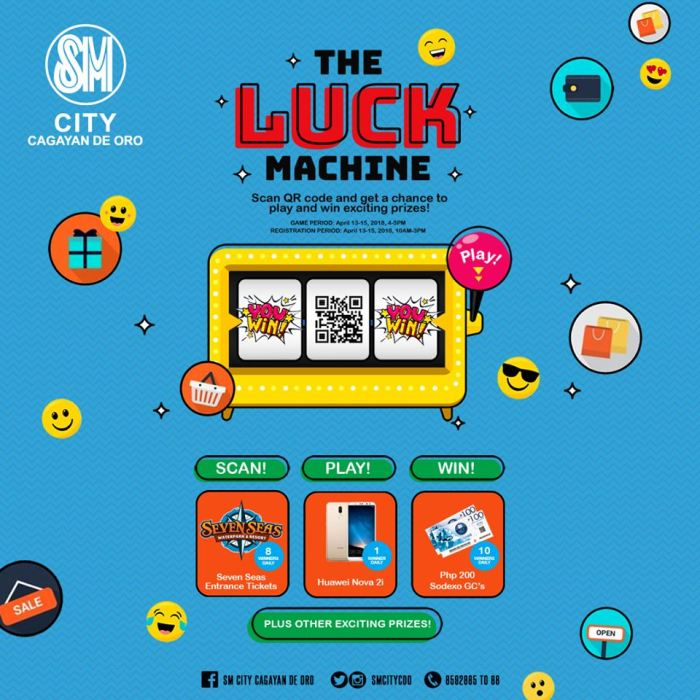 The Luck Machine SM City 3 Day Sale
