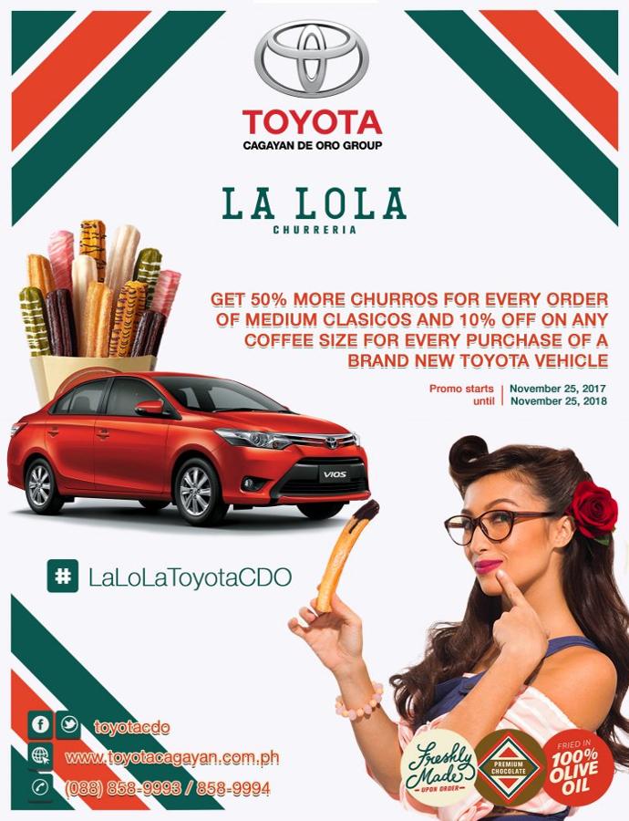Toyota lalola partnership promo