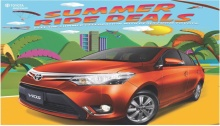 Toyota CDO Summer Ride Deals FI