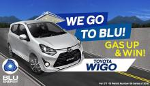 We Go to Blu Gas Up and Win