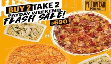 Yellow Cab Payday Weekend Flash Sale