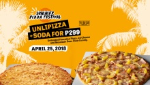 Yellow Cab Unli Pizza April 25 FI