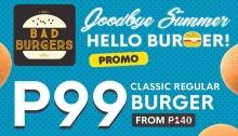 Bad Burgers Goodbye Summer Hello Burger FI