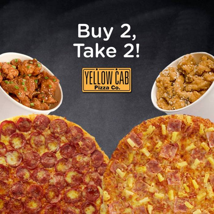 BDO Buy 2 Take 2 at Yellow Cab