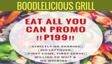Boodlelicious Grill eat all you can promo FI