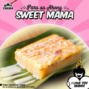 Boy Zugba Mother's day treat