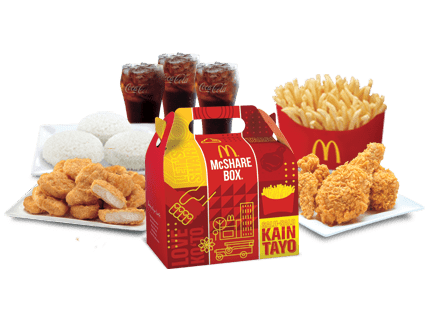 Chicken McDo and McNuggets Bundle for 3