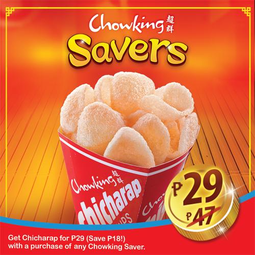Chowking Savers Chicharap
