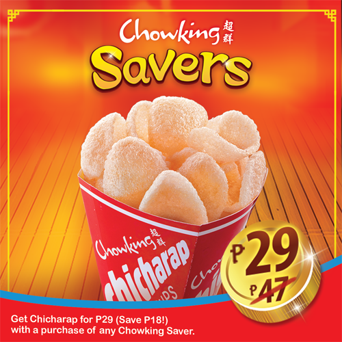 Chowking Savers Chicharap