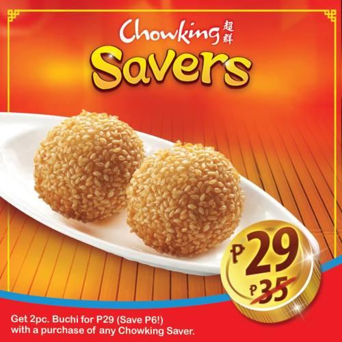 Chowking Savers 2pc Buchi