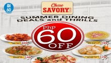 Classic Savory P60 off at SM 60th Anniversary FI