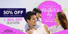 David's Salon Mother's Day Promo