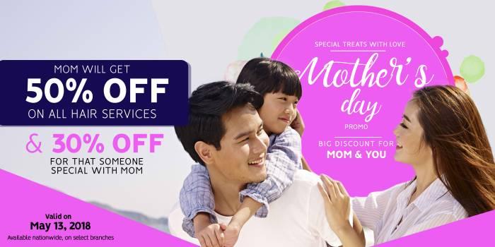 David's Salon Mother's Day Promo