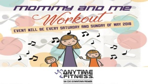 Free Yoga Dance classes and workout for Moms and Kids at Anytime Fitness