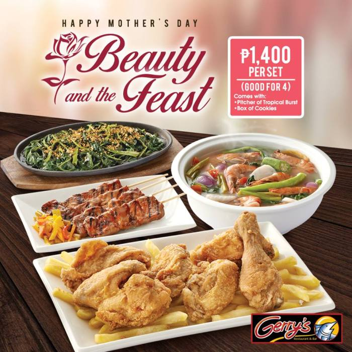 Gerry's Grill Beauty And The Feast