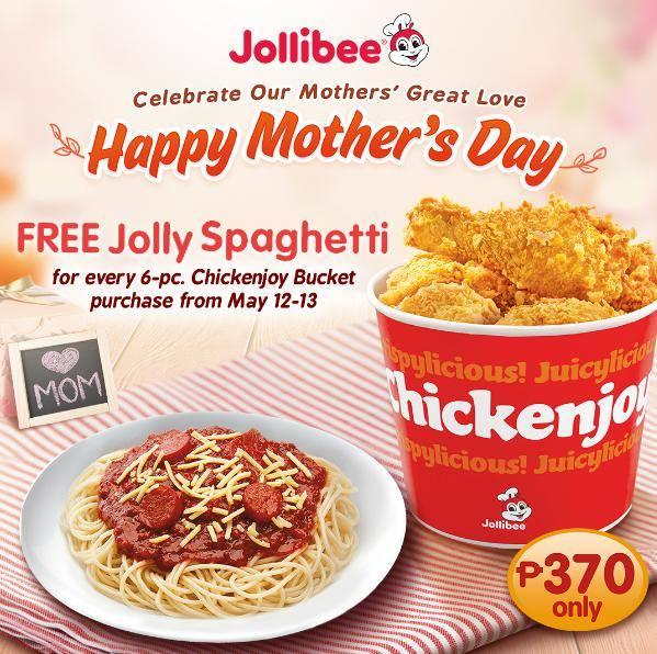 Jollibee Mother S Day Promo Cdo Promos