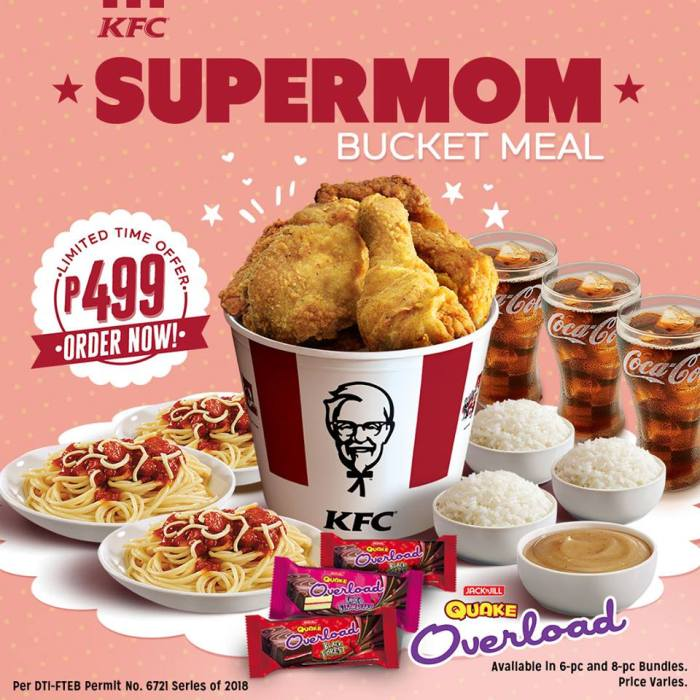 KFC Supermom Bucket Meal