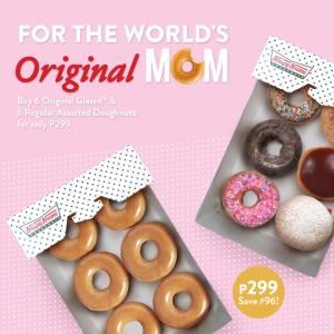 krispy Kreme for the worlds original mom