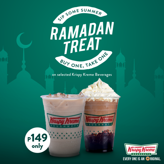 Krispy Kreme Ramadan Treat