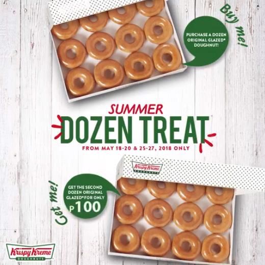 Krispy Kreme Summer Dozen Treat sq