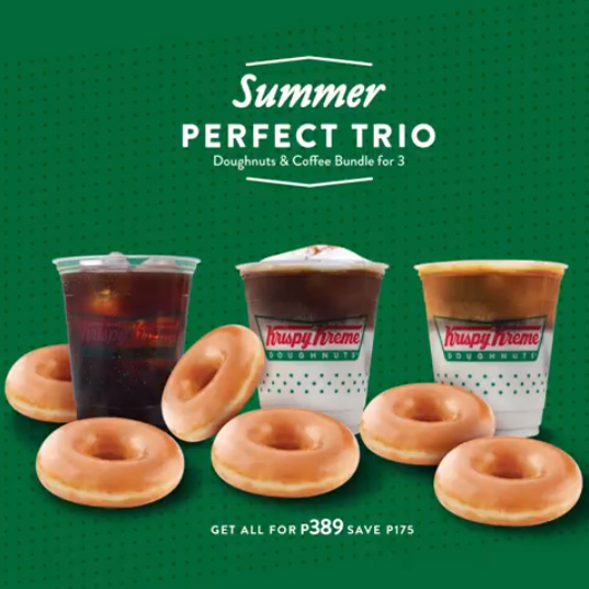 Krispy Kreme Summer Perfect Trio