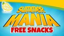Mango Mania Summer Mania Free Snacks FI