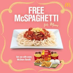 McDonald's Mother's Day Treat