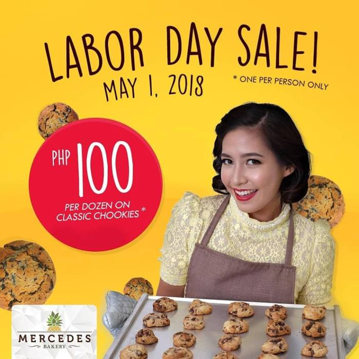 Mercedes Bakery Labor Day Sale