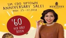 Mercedes Bakery SM CDO Uptown Anniversary Sale FI