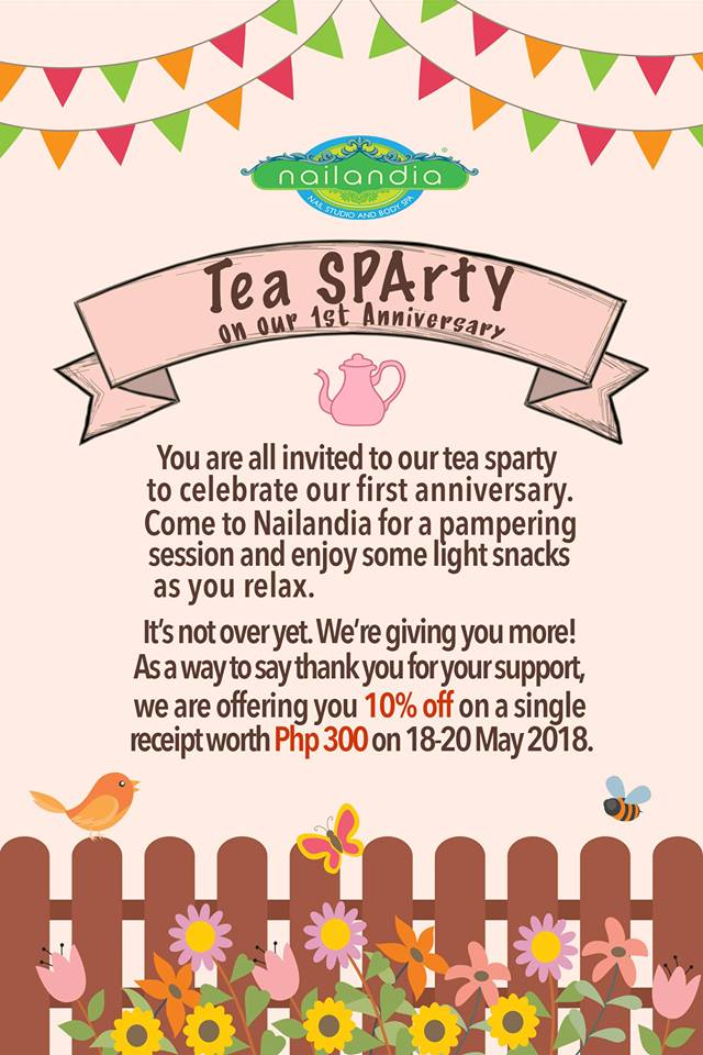 Nailandia Tea SPArty Extended