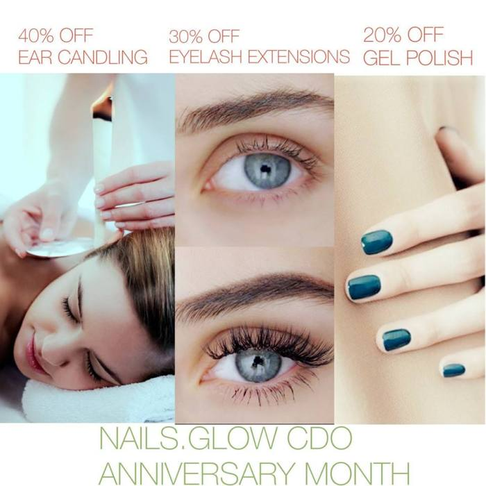 Nails.Glow Anniversary Month Promo