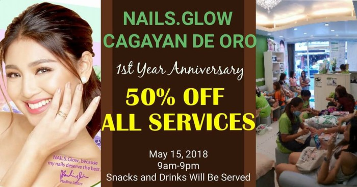 Nails.GlowCDO 1st Anniversary Promo
