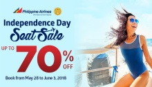 PAL Independence Day Seat Sale FI