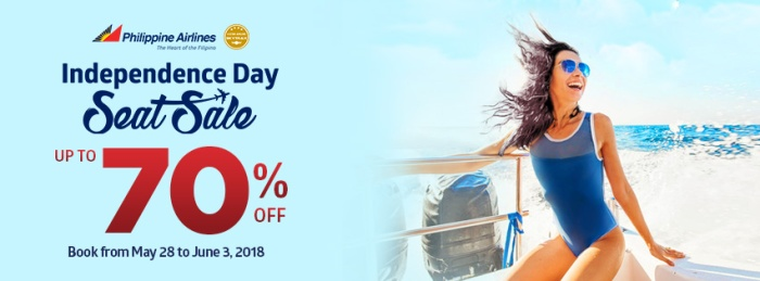 PAL Independence Day Seat Sale