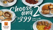 Pancake House Choose Any Two for P399 FI