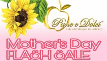 Pan e Dolci Mother's Day Flash Sale FI