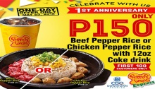Pepper Lunch SM CDO Downtown Premier 1st Anniversary FI