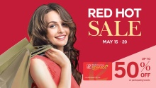 Robinsons Department Store Red Hot Sale FI2