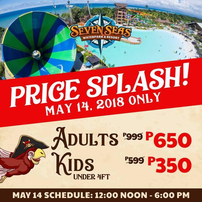 Seven Seas Price Splash